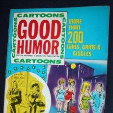 Cómics: CARTOONS :GOOD HUMOR - REVISTA DE CHISTES PARA ADULTOS EN INGLES-. Lote 114532611