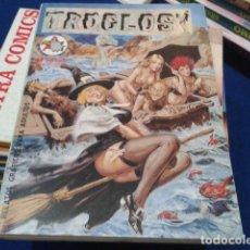 Cómics: LIBRO COMIC EDITORIAL ASTRI 1997 ( TROGLOS ALBUM Nº 1 ) CONTIENE 3 COMICS. Lote 116802555