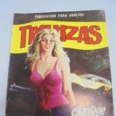 Comics: PUBLICACION PARA ADULTOS. TRILLIZAS. Nº 1. CHANTAGE A LA DROGA. Lote 117276483