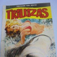 Comics: PUBLICACION PARA ADULTOS. TRILLIZAS. Nº 9. CARGAMENTOS DESAPARECIDOS. Lote 117277183