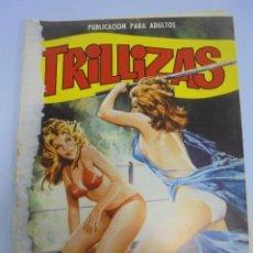 Comics: PUBLICACION PARA ADULTOS. TRILLIZAS. Nº 7. POLUCION. Lote 117277291