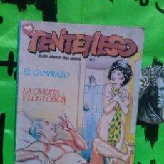 Cómics: RELATOS GRAFICOS PARA ADULTOS, TENTETIESO Nº 2 . Lote 128116995
