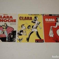 Cómics: CLARA DE NOCHE. Lote 128149955