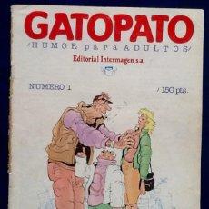 Cómics: GATOPATO. NUMERO 1. 1985. . ENVIO INCLUIDO EN EL PRECIO.. Lote 128245019