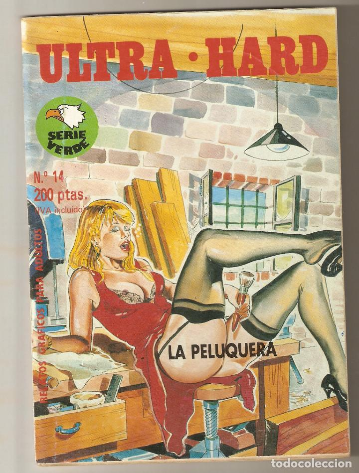ULTRA - HARD Nº 14 - RELATOS PARA ADULTOS - COMIC EROTICO - EDITORIAL ASTRI - 1993 - 64 PP - (Coleccionismo para Adultos - Comics)