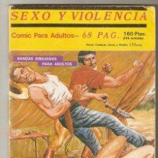 Comics: SEXO Y VIOLENCIA Nº 2 - RELATOS PARA ADULTOS - COMIC EROTICO - PLEIBATE EDICIONES - 1993 - 64 PP -. Lote 128988299