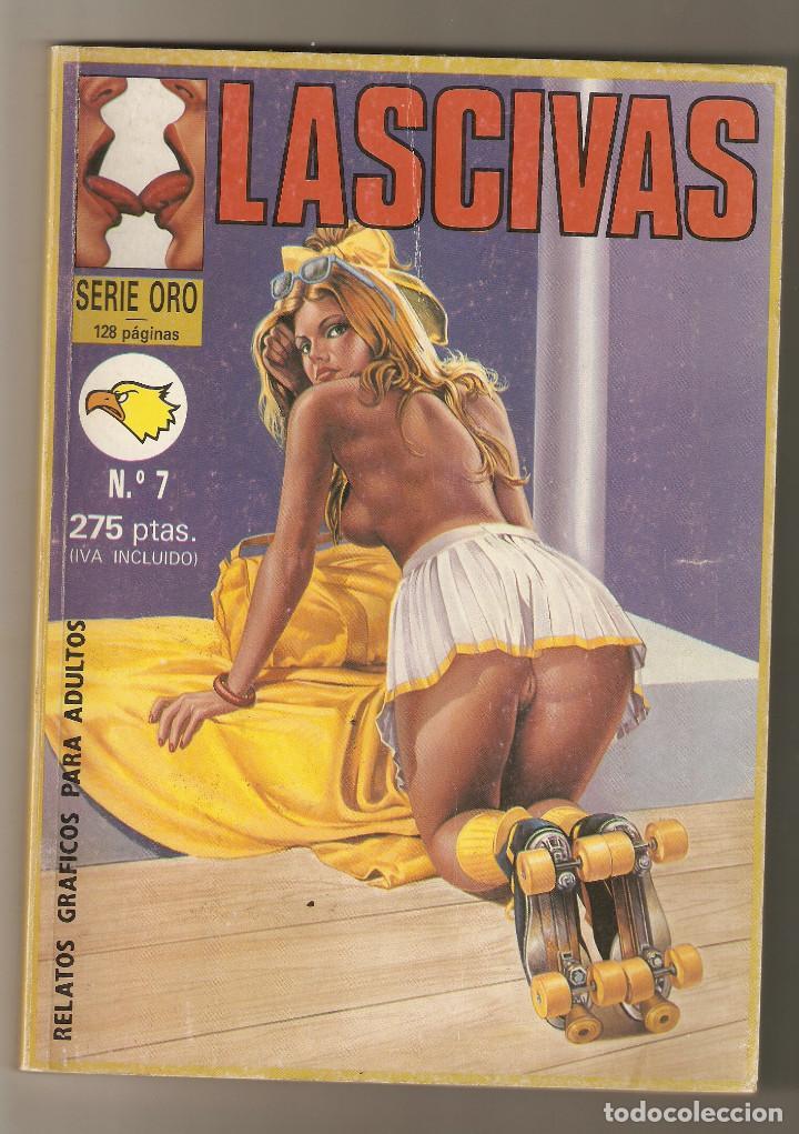 LASCIVAS Nº 7 - RELATOS PARA ADULTOS - COMIC EROTICO - EDITORIAL ASTRI - 1993 - 128 PP - (Coleccionismo para Adultos - Comics)