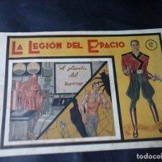 Cómics: TEBEO AÑOS 40 LA LEGION DEL ESPACIO . Lote 130930172