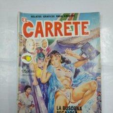 Cómics: EL CARRETE. Nº 21. LA BUSCONA PEGAJOSA. RELATOS GRAFICOS PARA ADULTOS. EDITORIAL ASTRI. TDKC26. Lote 132864478