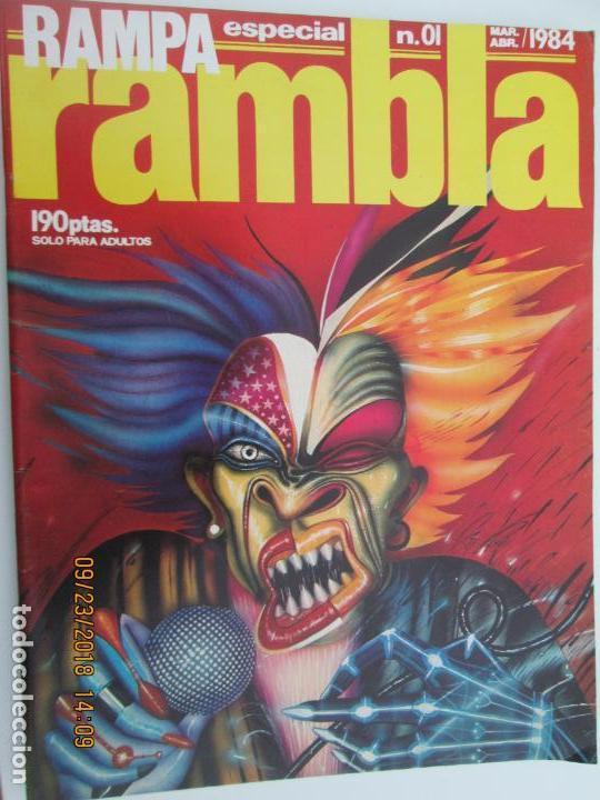 RAMBLA RAMPA ESPECIAL Nº 01 ABRIL- MAYO 1984 - EL NUEVO COMIC ESPAÑOL (Coleccionismo para Adultos - Comics)