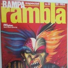Comics: RAMBLA RAMPA ESPECIAL Nº 01 ABRIL- MAYO 1984 - EL NUEVO COMIC ESPAÑOL. Lote 134516974