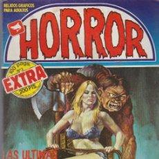 Cómics: HORROR. ZINCO 1987. Nº 3 -EXTRA 100 PÁGINAS-. Lote 221535277