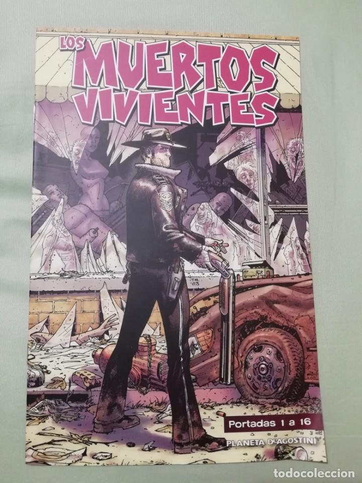 LOS MUERTOS VIVIENTES. PORTADAS 1 A 48. PLANETA DEAGOSTINI (Coleccionismo para Adultos - Comics)
