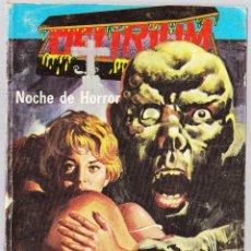 Cómics: DELIRIUM Nº 2 - NOCHE DE HORROR - ELVIBERIA 1976. Lote 154128162