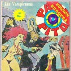 Cómics: PACO PITO Nº 22 - LAS VAMPIRESAS - ELVIBERIA 1978. Lote 154138382
