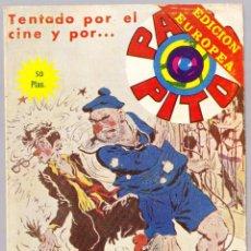 Fumetti: PACO PITO Nº 27 - TENTADO POR EL CINE Y POR - ELVIBERIA 1978. Lote 154139002
