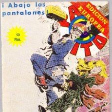 Cómics: PACO PITO Nº 28 - ABAJO LOS PANTALONES - ELVIBERIA 1978. Lote 234671665