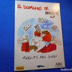 Cómics: ANTONIO MINGOTE, NORMAS DEL DOMINÓ. Lote 155136754