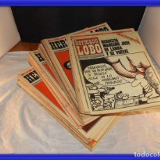 Cómics: COLECCION REVISTA HERMANO LOBO 106 EJEMPLARES AÑOS 1972 A 1975. Lote 158350562