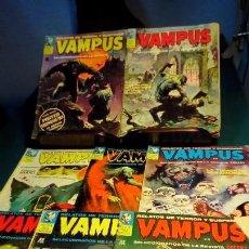 Cómics: VAMPUS. Lote 160675870