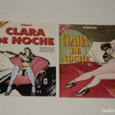 Cómics: CLARA DE NOCHE. Lote 160804742