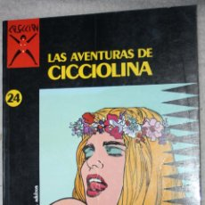 Cómics: COLECCION X , Nº 24 : LAS AVENTURAS DE CICCIOLINA (DE FILIPPUCCI,ROMANINI & UBALDI) .. Lote 168336132