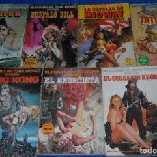 Cómics - Selecciones del comic erótico - Tiburon - Buffalo Bill - King Kong - El exorcista - etc. - 169280060