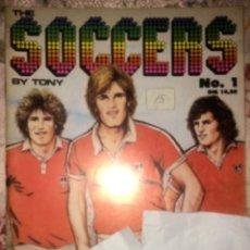 Cómics: THE SOCCERS Nº 1 - COQ INTERNATIONAL 1979 - COMIC DANES DE INTERES GAY - HOJAS IMPRESAS A UNA CARA. Lote 173644558
