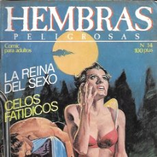 Fumetti: HEMBRAS PELIGROSAS. ZINCO. Nº 14. Lote 174566782