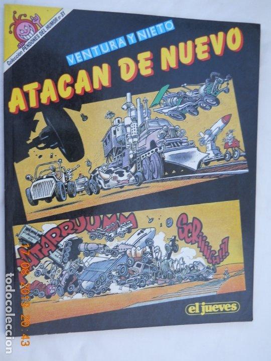 VENTURA Y NIETO ATACAN DE NUEVO - EL JUEVE COLECCION PENDONES DEL HUMOR Nº 31 (Coleccionismo para Adultos - Comics)