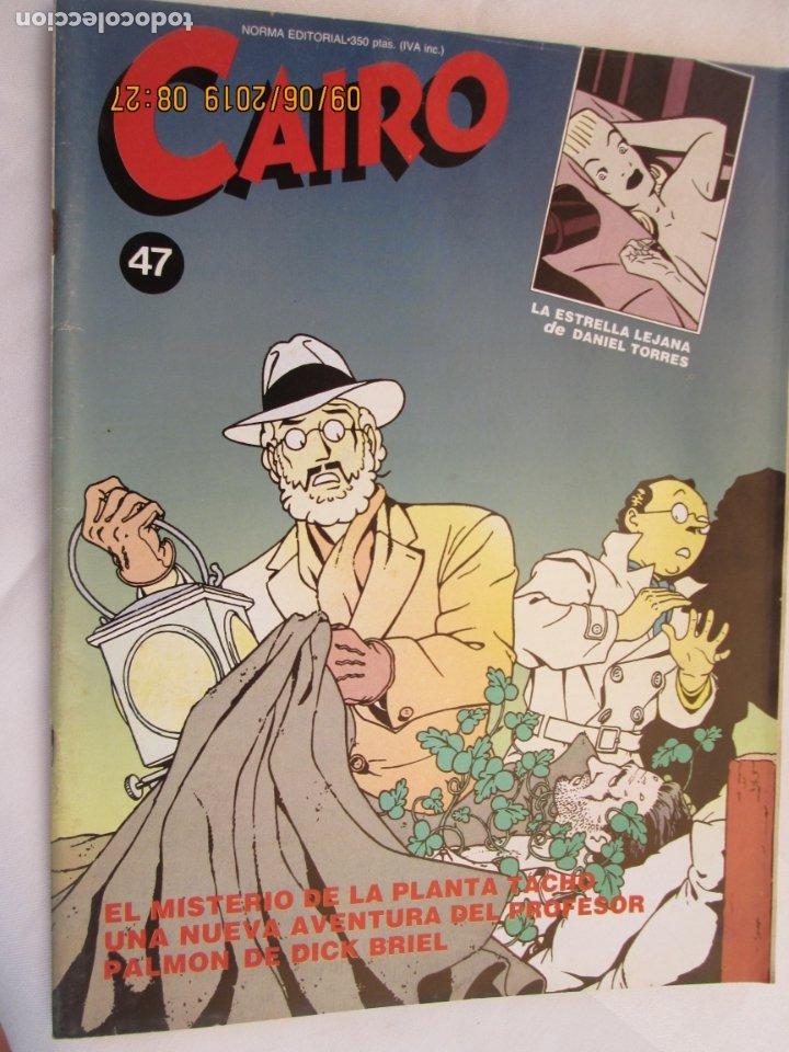 CAIRO NORMA EDITORIAL Nº 47 EL MISTERIO DE LA PLANTA TACHO , LA ESTRELLA LEJANA (Coleccionismo para Adultos - Comics)