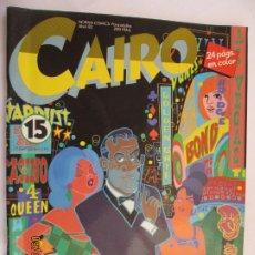 Comics: CAIRO NORMA EDITORIAL Nº 15 LICENCIA PARA MATAR . Lote 175980867