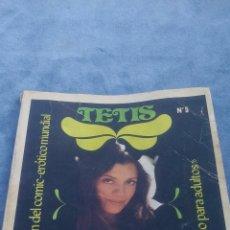 Cómics: TETIS Nº 5 (ALBUM CON LA MEJOR SELECCION COMIC EROTICO MUNDIAL). SOLO ADULTOS. Lote 176582522