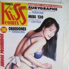 Comics: KISS COMIX , MAGAZINE EROTICO MENSUAL Nº 36 JUEGOS PROHIBIDOS , EDICIONES LA CÚPULA. Lote 177728813