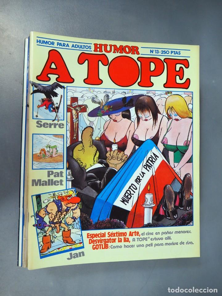 Cómics: A TOPE. LOTE CON 6 EJEMPLARES. CÓMICS DE HUMOR ERÓTICO - Foto 4 - 196036115
