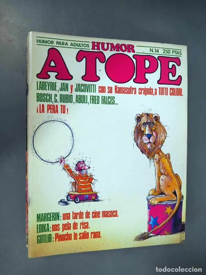 Cómics: A TOPE. LOTE CON 6 EJEMPLARES. CÓMICS DE HUMOR ERÓTICO - Foto 5 - 196036115