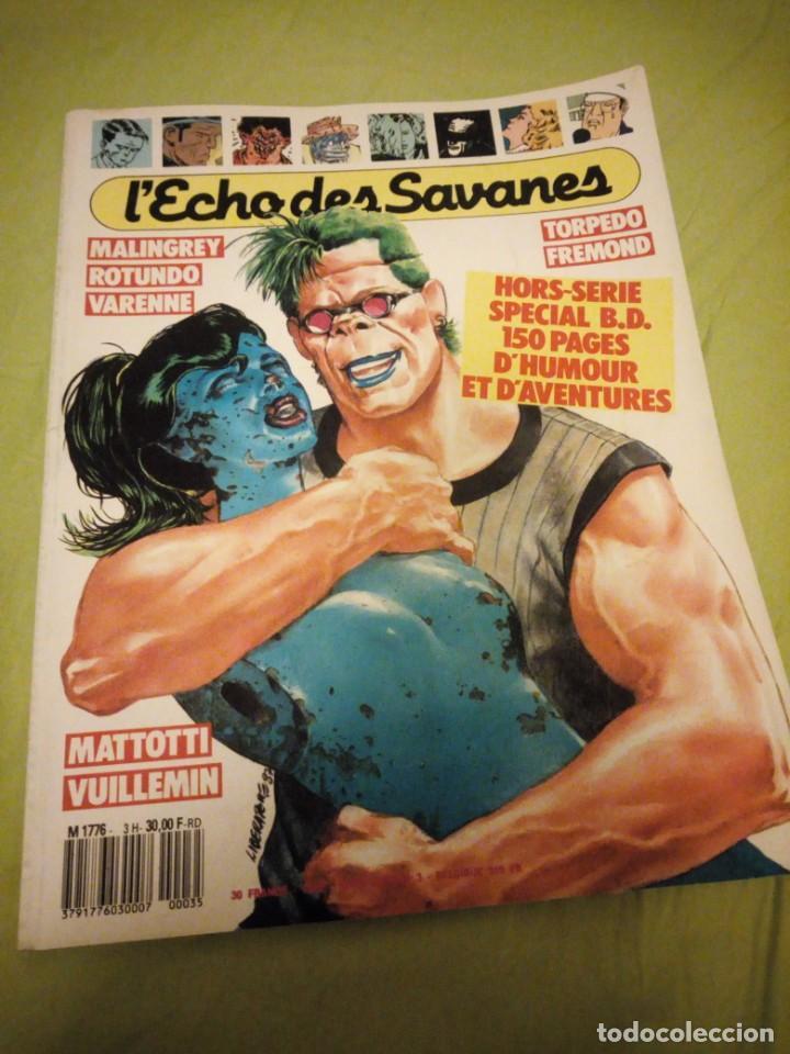 REVISTA HEROTICA L'ECHO DES SAVANES Nº 3 1987,FRANCES (Coleccionismo para Adultos - Comics)