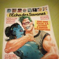 Cómics: REVISTA HEROTICA L'ECHO DES SAVANES Nº 3 1987,FRANCES. Lote 196114910