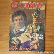 Fumetti: CHACAL 36 PLAN SINIESTRO, LUNA ENSANGRENTADA. RELATOS GRAFICOS PARA ADULTOS ZINCO. Lote 197265056