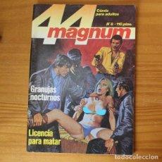 Fumetti: MAGNUM 44 8 GRANUJAS NOCTURNOS, LICENCIA PARA MATAR. RELATOS GRAFICOS PARA ADULTOS ZINCO. Lote 197265242