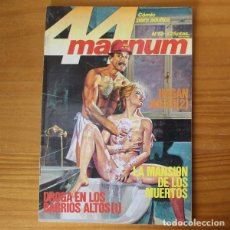 Fumetti: MAGNUM 44 12 DROGA EN LOS BARRIOS ALTOS, LA MANSION DE LOS MUERTOS. RELATOS GRAFICOS PARA ADULTOS ZI. Lote 197265296