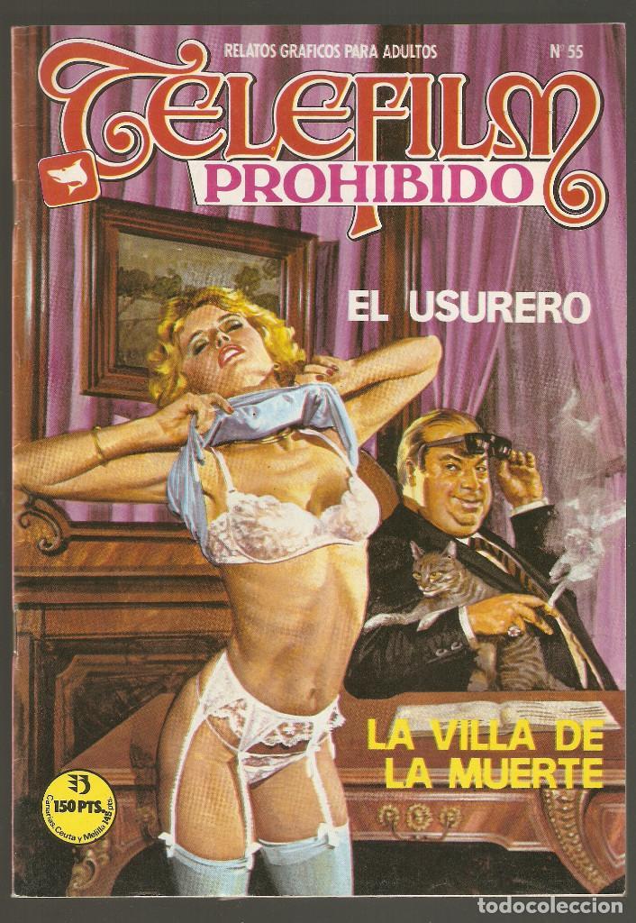 TELEFILM PROHIBIDO - Nº 55 - EL USURERO - COMIC EROTICO PARA ADULTOS - ASTRI - (Coleccionismo para Adultos - Comics)