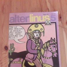 Cómics: ALTER LINUS 5 MILANO LIBRI EDIZIONI 1975. Lote 147023686