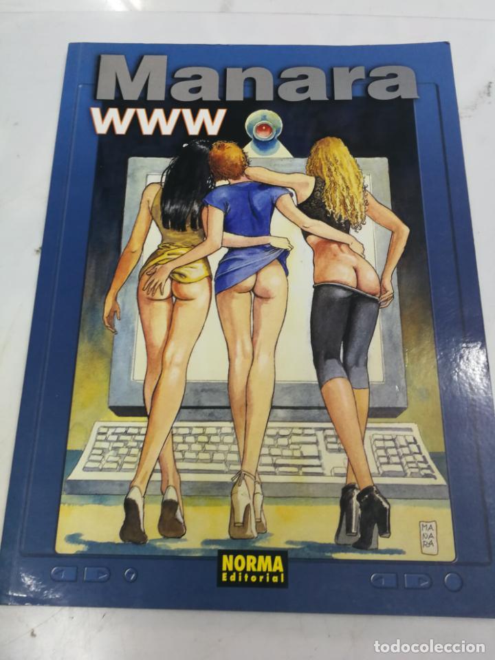 WWW - COLECCIÓN MANARA COLOR Nº 12 - 1ª EDICIÓN - NORMA - 1999 (Coleccionismo para Adultos - Comics)