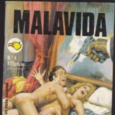 Cómics: MALAVIDA - Nº 4 - RELATOS PARA ADULTOS - COMIC EROTICO - EDITORIAL ASTRI -. Lote 205668450