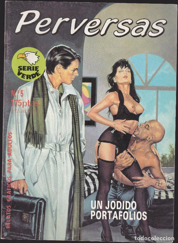PERVERSAS - Nº 5 - RELATOS PARA ADULTOS - COMIC EROTICO - EDITORIAL ASTRI - (Coleccionismo para Adultos - Comics)