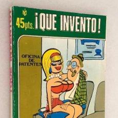 Cómics: ¡ QUE INVENTO ! PUBLICACION PARA ADULTOS *** MARC BEN S.A. 1977. Lote 206339956