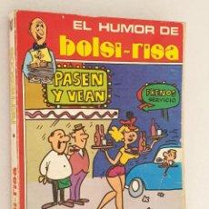 Cómics: EL HUMOR DE BOLSI - RISA *** REFRESCOS *** NÚMERO 2. Lote 206340806