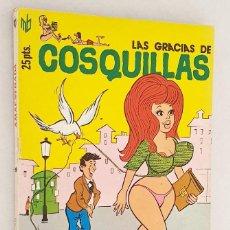 Cómics: LAS GRACIAS DE COSQUILLAS *** AMAESTRADA *** NÚMERO 12 *** EDITA MARC BEN S.A. 1976. Lote 206342360