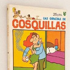 Cómics: LAS GRACIAS DE COSQUILLAS *** SOFOCO *** NÚMERO 9. Lote 206343226